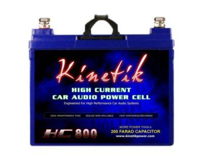 Kinetik HC800 BLU 800W 12V Car Audio Battery Power Cell