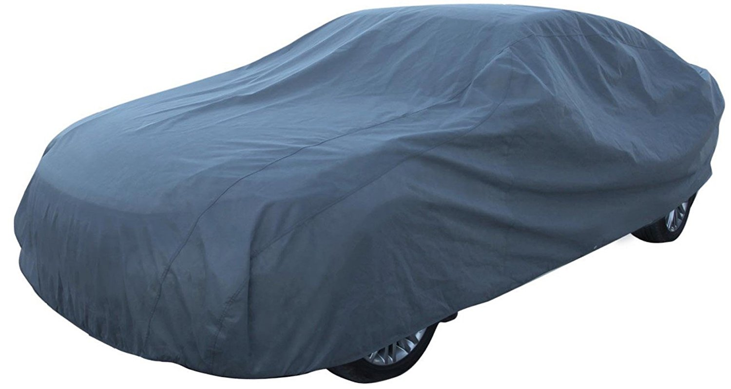 Car Covers Auto Vehicle Covers for Indoor Grey Car Cover Dust-Proof Anti Bird Dropping Tree Leaves Windproof Car Tarp 200