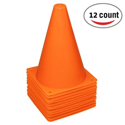 Reehut 7.5 Inch Plastic Sport Training Traffic Cone