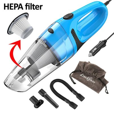 LIBERRWAY Car Vacuum Cleaner