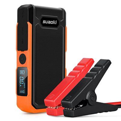 Suaoki U10 800A Peak 20000mAh Portable Car Jump Starter