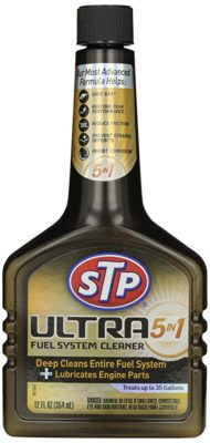 STP Ultra 5-in-1 Fuel System Cleaner and Fuel Stabilizer