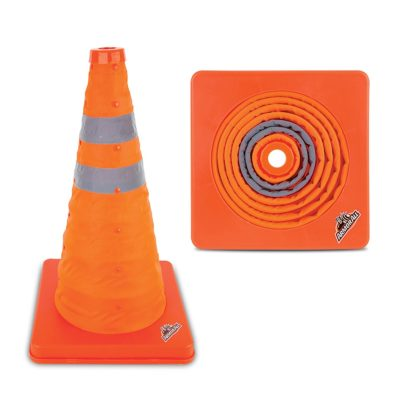 "Armor All 16"" Traffic Safety Cone - Collapsible Pop Up"