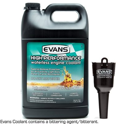 EVANS Coolant EC53001 High Performance Waterless Coolant