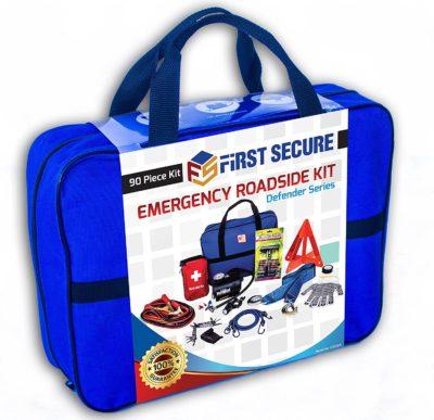 First Secure Roadside Emergency Car Kit