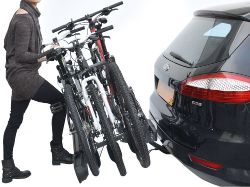 3 Bike Bicycle Carrier Car Cycle Rack Rear Mount for FORD S-MAX 06-ON Triple