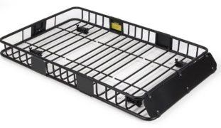 "ARKSEN 64"" Universal Black Roof Rack Cargo with Extension Car Top"