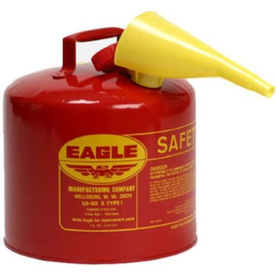 Eagle Safety Gas Can