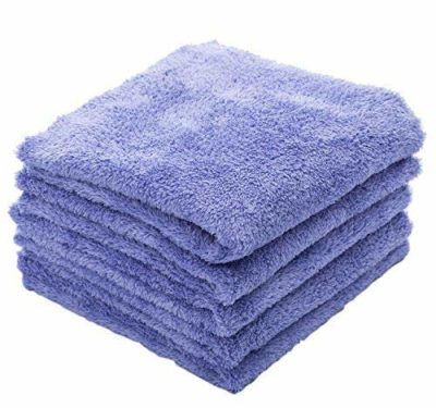 The Rag Company (5-Pack) Eagle Edgeless 350 Professional Korean Microfiber Detailing Towels