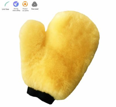 Okayda Sheepskin Car Wash Mitts by Super Soft