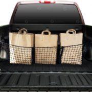 Zone Tech Black Mesh Three Pocket Trunk Cargo Organizer