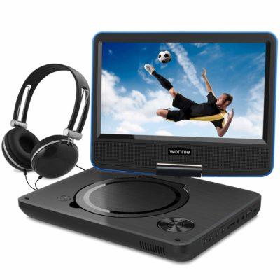 WONNIE 9.5 Inch Portable DVD Player