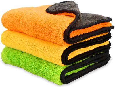 iTavah Car Detailing Towels Pack of 3
