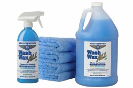 Aero Cosmetics Wet or Waterless Car Wash Wax