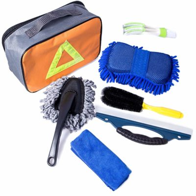 Besteek Car Washing Cleanning Tools Kit with Bag