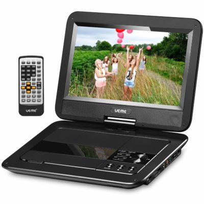 "UEME 10.1"" Portable DVD Player"
