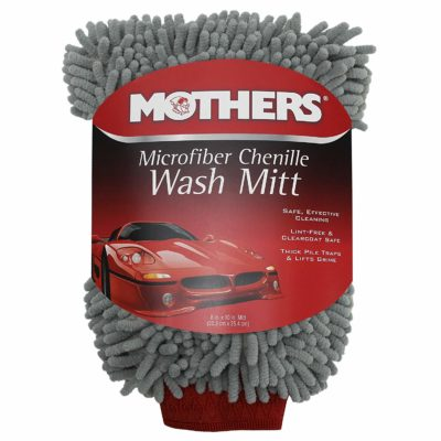 Mothers 968801 Premium Chenille Car Wash Mitt