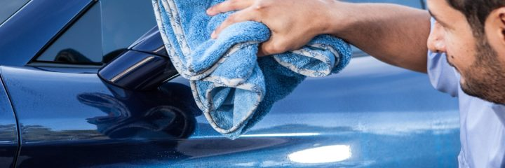 Grebest Car Washing Towel Car Cleaning and Maintenance Cleaning Towel Ultra Soft Microfiber Auto Car Cleaning Washing Abosrption Sponge Cloth Towel Blue