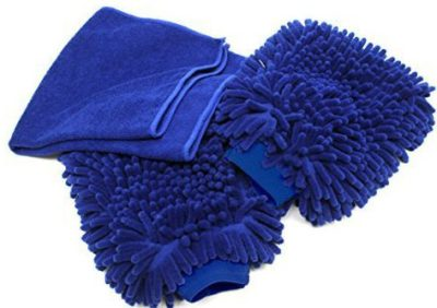 Microfiber Safely Washes Your Vehicle Without Scratching Your Cars Exterior Adams Double Side Chenille Wash Mitt 2 Pack Ultra-Soft Works Great with Your Favorite Car Wash Soap
