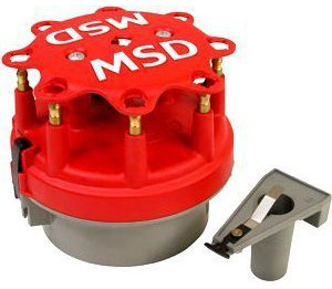MSD Cap-a-Dapt Distributor and Rotor Kit