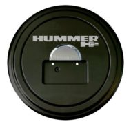 Boomerang Hummer H2 Rigid Tire Cover & Chrome Dome
