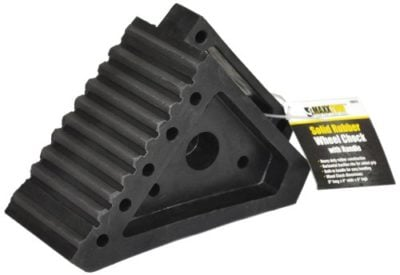 MaxxHaul 70072 Solid Rubber Heavy Duty Wheel Chock
