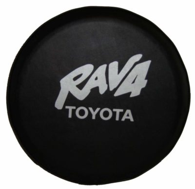 "Sparecover abc –Rav4 -28-Silver ABC Series Black 28"" Tire Cover"