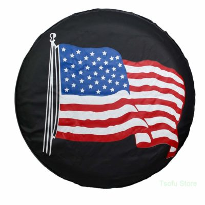Spare Tire Cover PVC Leather Watrproof Universal Spare Wheel