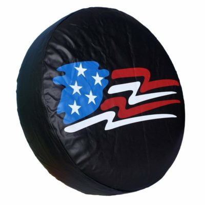 Healink Spare Tire Cover PVC Leather Waterproof