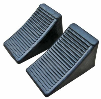 Fasmov Solid Rubber Heavy Duty Wheel Chock