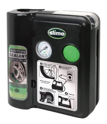 Slime 70005 Safety Spair 7 Minute Flat Tire Repair System