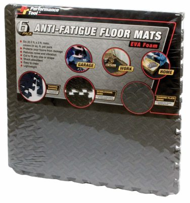 Performance Tool W88989 Protective Interlocking Floor Mat