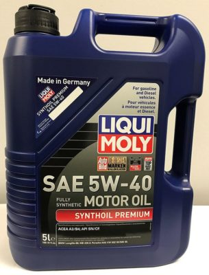 Liqui Moly 2041 Motor Oil