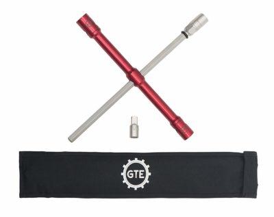 """LugStrong 26"""" Universal Compact Lug Wrench Set"""