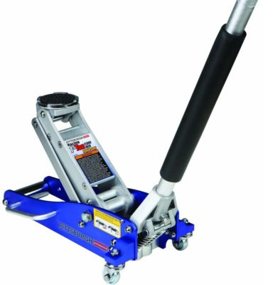 Compact Aluminum Racing Jack with Rapid Pump
