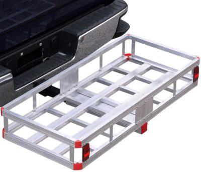 Bumper Hitch Cargo Carrier Basket