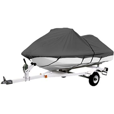 Gray Trailerable PWC Personal Watercraft Cover