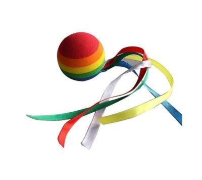 YGMONER Coloured Ribbon Ball Car Antenna Topper
