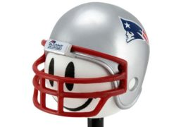 NFL New England Patriots Helmet Antenna Topper