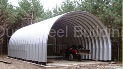 Duro Span Steel Carport Shed