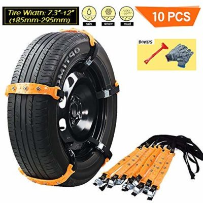 VeMee Snow Chains for Car Snow Tire Chains