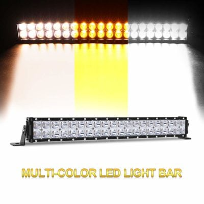 Autofeel 20 inch Three Color Modes Led Light Bar