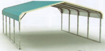Regular Style All Steel Carport Cover