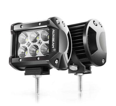 "Auxbeam 4"" LED Pods 18W Flood LED Light Bar 1800lm"