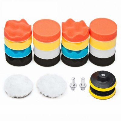 Petutu Car Foam Drill Polishing Pad Kit
