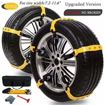Mannice Car Snow Chains for Car Suv Truck