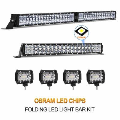 Rigidhorse LED Light Bar Kit