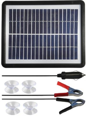 Sunway Solar 6W Car Battery Trickle Charger