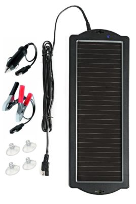 Sunway Solar Car Battery Trickle Charger