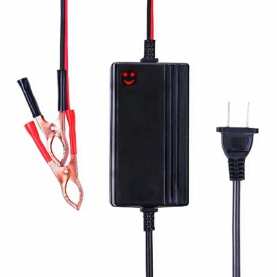 12V to 14.8V Automatic Lead Acid Battery Charger/Maintainer, 1.2A Trickle Charger for car